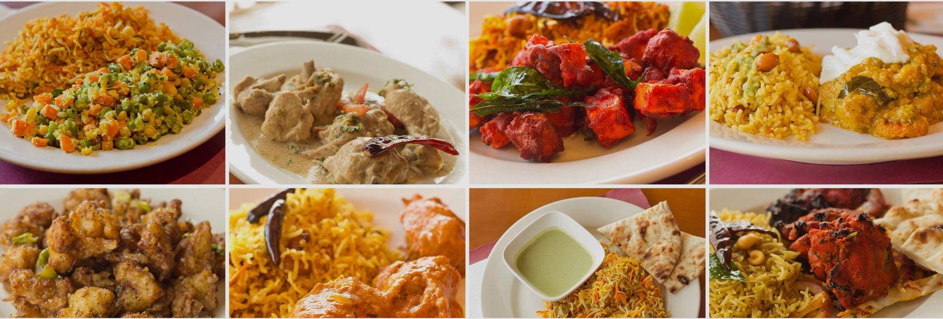Gurus Fine Indian Cuisine Menu